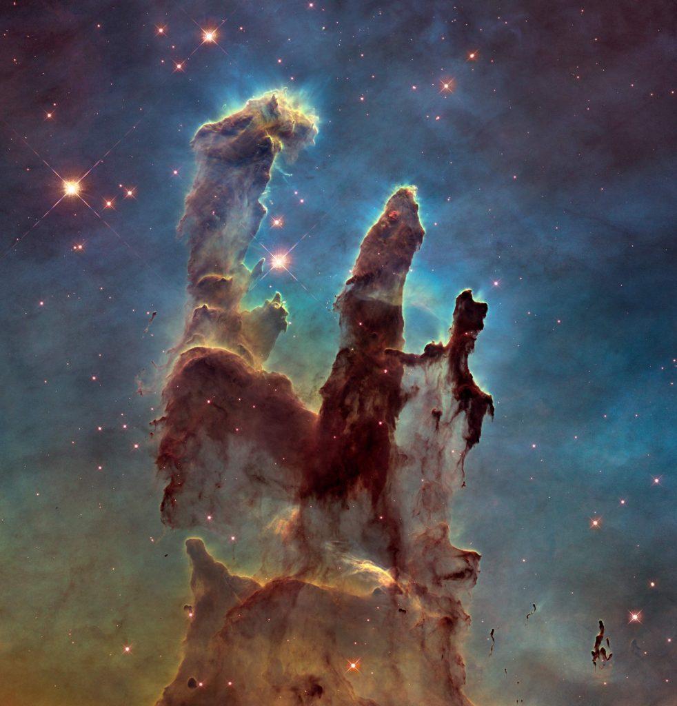 Hubble - Pillars-of-Creation