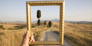 picture frame framing gravel