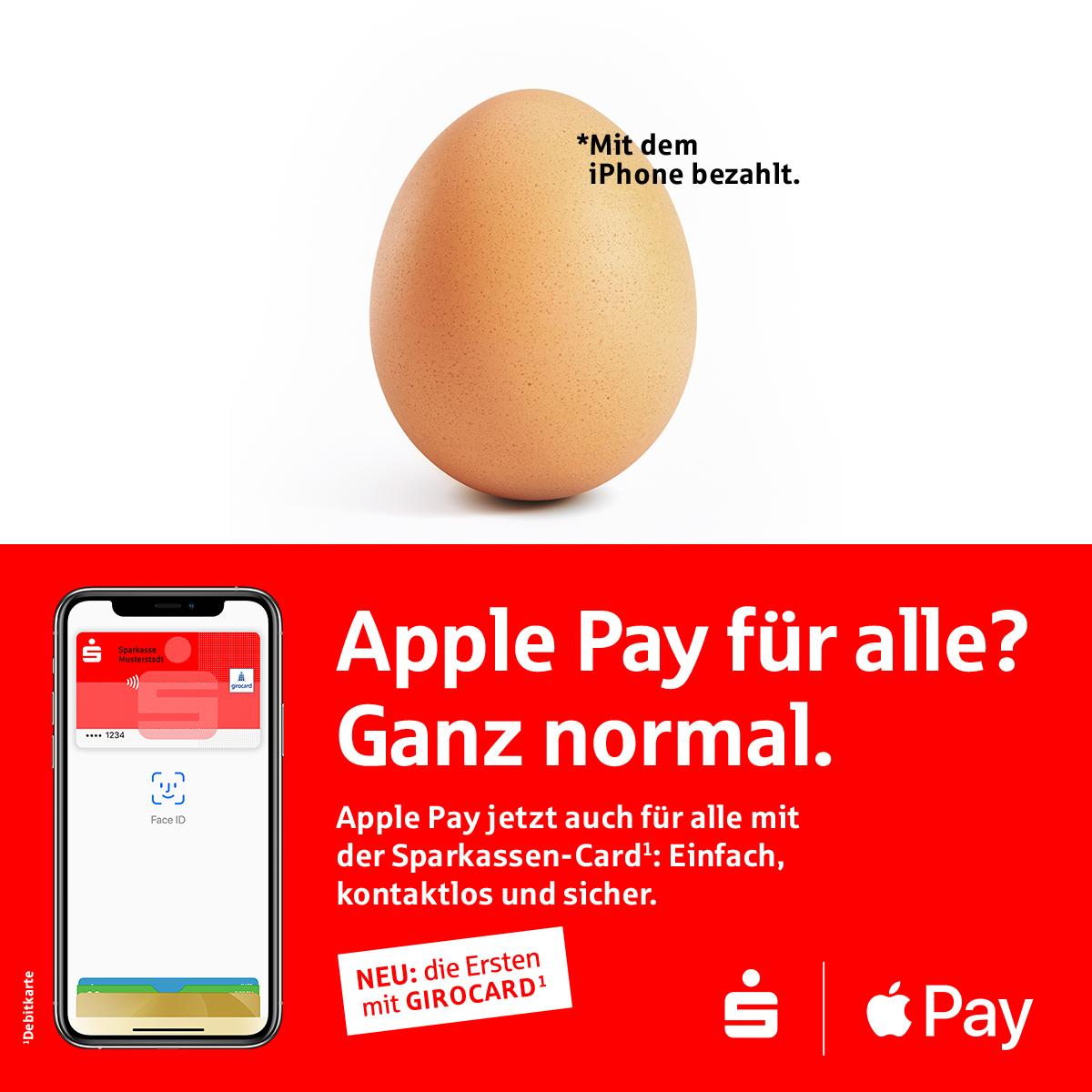 Sparkasse, Apple Pay girocard entegrasyonunu tamamladı