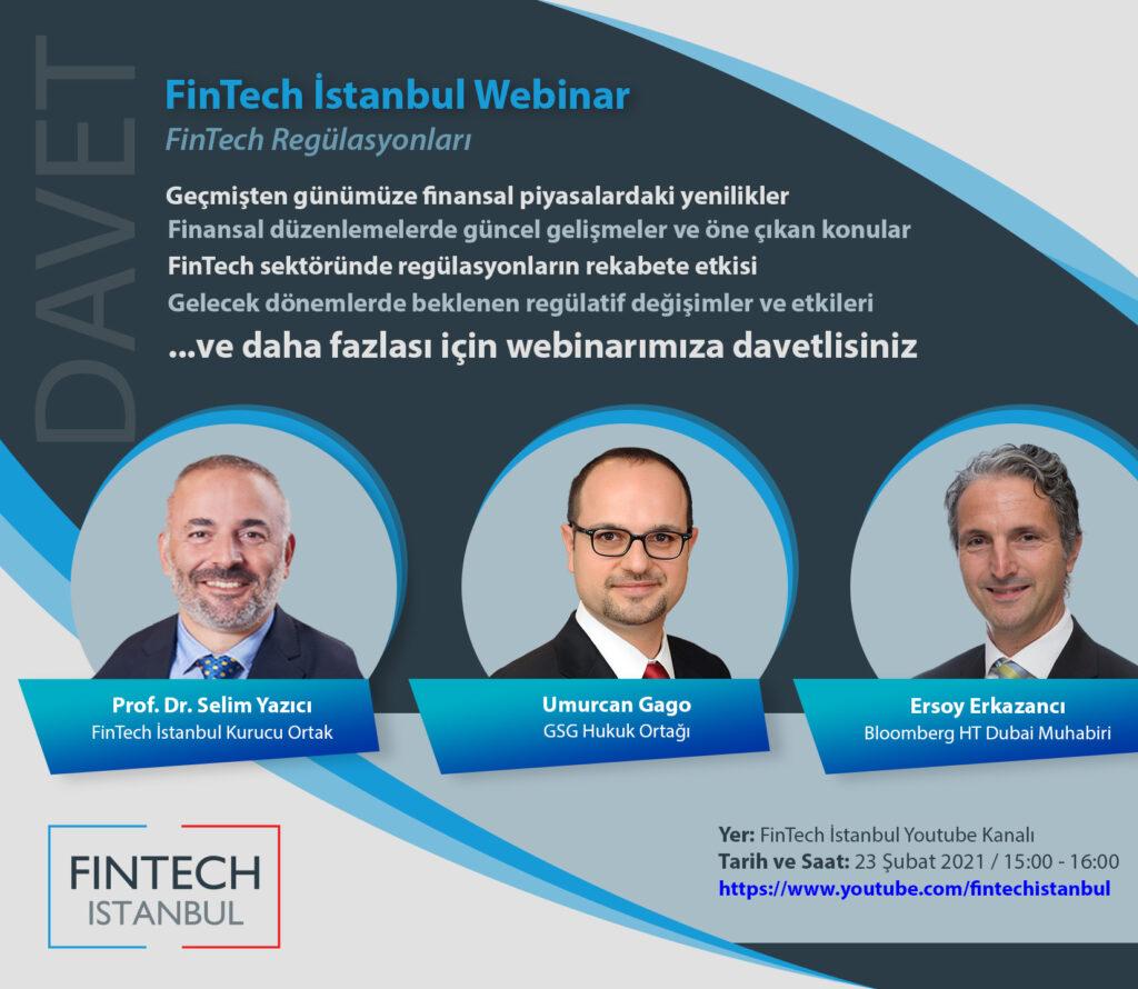 Webinar Daveti: FinTech Regülasyonları